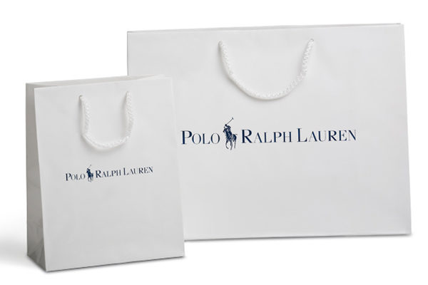 White Craft Paper Carry Bag
